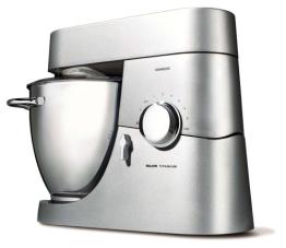 Kenwood KM 020 - Küchenmaschine Titanium Major 1500 W Titan/silber Profi K Haken 3 teiliges Patisserieset GlasMixaufsatz - Testsieger Testmagazin (01/2012) - 1